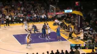 arron afflalo 30 points vs lakers ft black boy fly by kendrick lamar