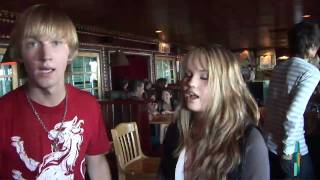 Debby Ryan & Jason Dolley Hanging Out at Mitchel Musso's Concert