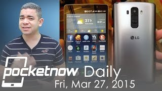 LG G4 leaked, Android 5.1 update, Windows 10 names & more - Pocketnow Daily