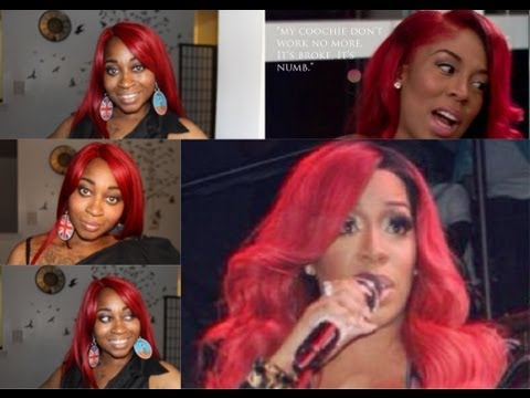 NELLY | FREETRESS EQUAL SYNTHETIC LACE FRONT DEEP INVISIBLE PART WIG|| K Michelle Wig | SamoreLoveTV
