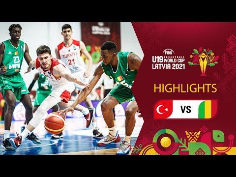 Turkey - Mali   Full Highlights - FIBA U19 Basketball World Cup 2021