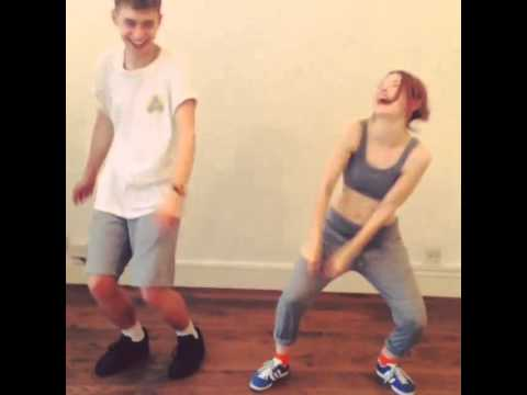 Emily Browning & Olly Alexander Dance Rehearsal