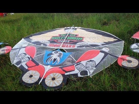 Gapangan - Kite Competition Banyuwangi 2017 Tegalpare - Muncar