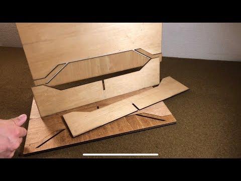ミニマムウッドテーブル収納時の脚のばらつきを抑える