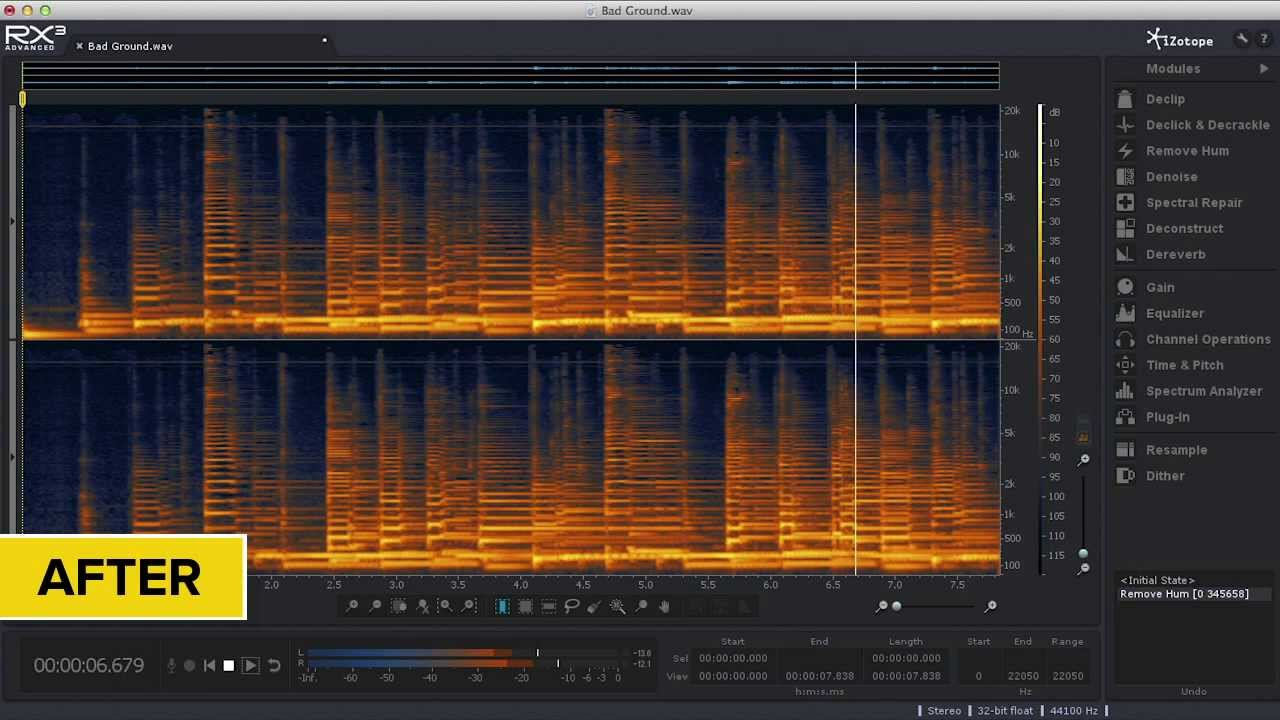 Review: iZotope RX 3 Advanced by Zach McNees — SonicScoop