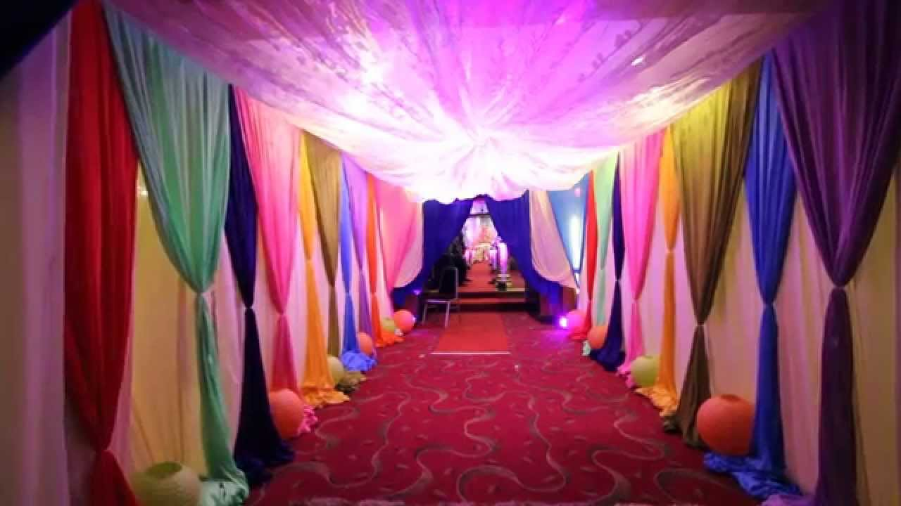 malaysian indian wedding decorationsred rock hotelpenang youtube - Indian Wedding Decorations