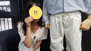 [토키오] 액티비티 밴딩 하프 팬츠를 소개합니다 / #…