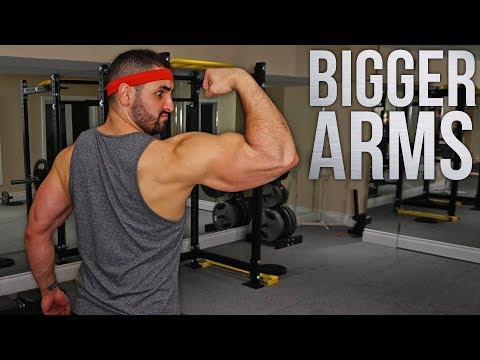 Full Day Of Eating To Get JACKED   7 Tips For BIGGER Arms   BarbarianLife Ep.1