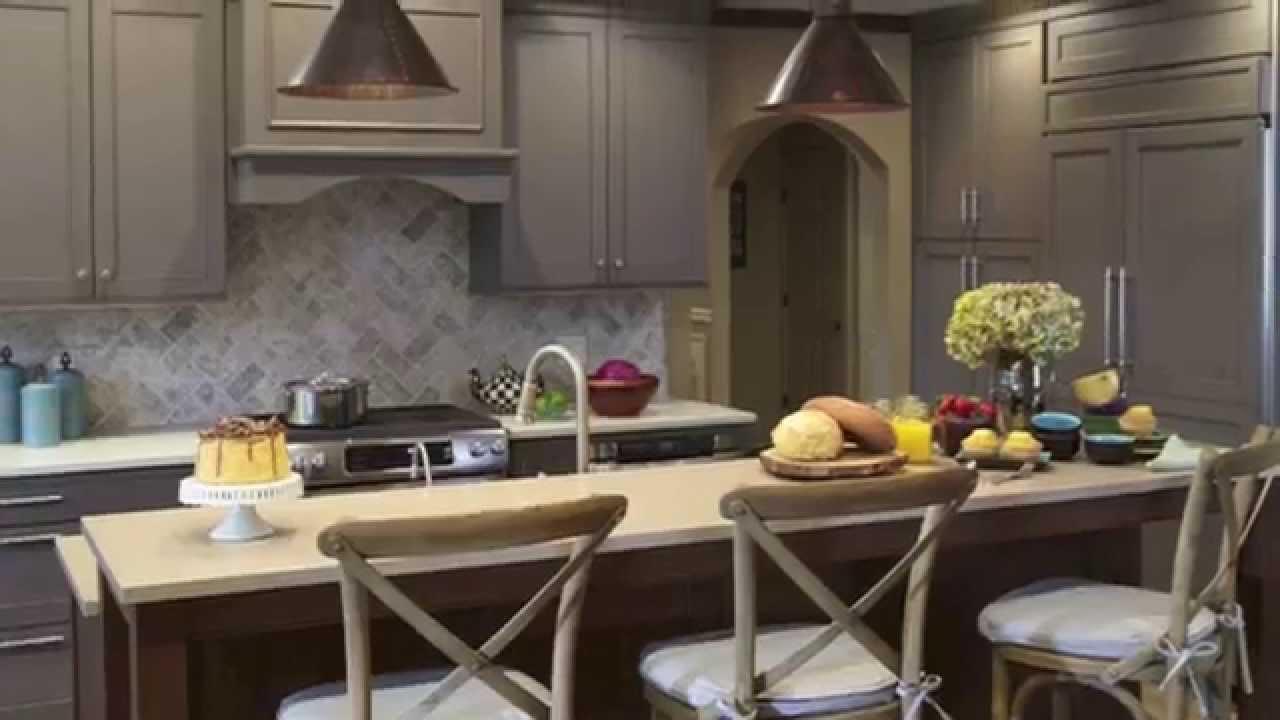 Grey Kitchen Design U0026 Ideas At Kitchen Designs By Ken Kelly Long Island  Showroom   YouTube
