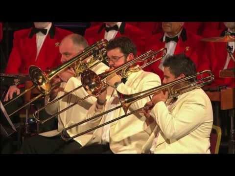David Childs conducting Cory Band - A Welsh Medley RAH