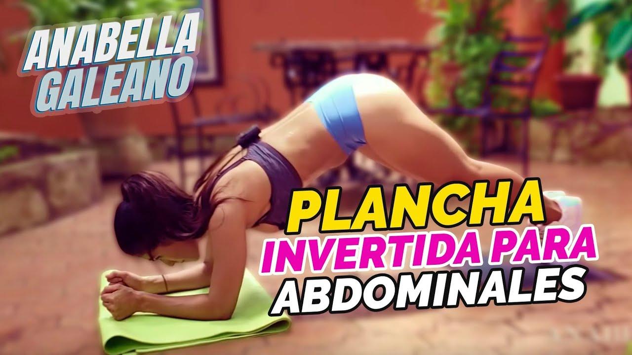 Planchas Invertidas para Abdominales - Anabella Galeano