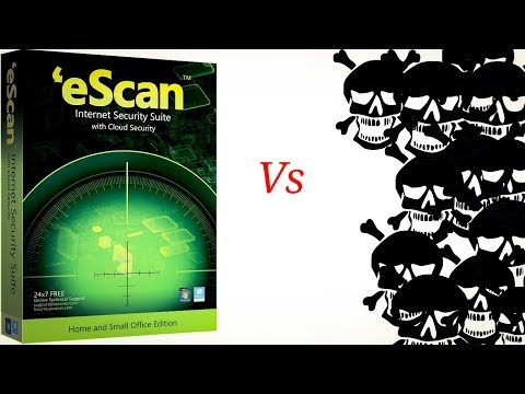 EScan Internet Security 2019 Review!! In Hindi!!