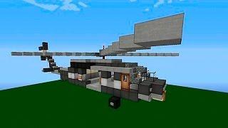 Майнкрафт Как построить ВЕРТОЛЕТ с мигалками Minecraft Helicopter