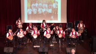 "Wineland Banjo Band plays -  ""Rose of Washington Square"""