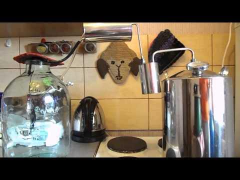Как пользоваться самогонным аппаратом видео
