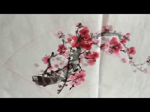 Chinese Art Painting : Cherry Blossom