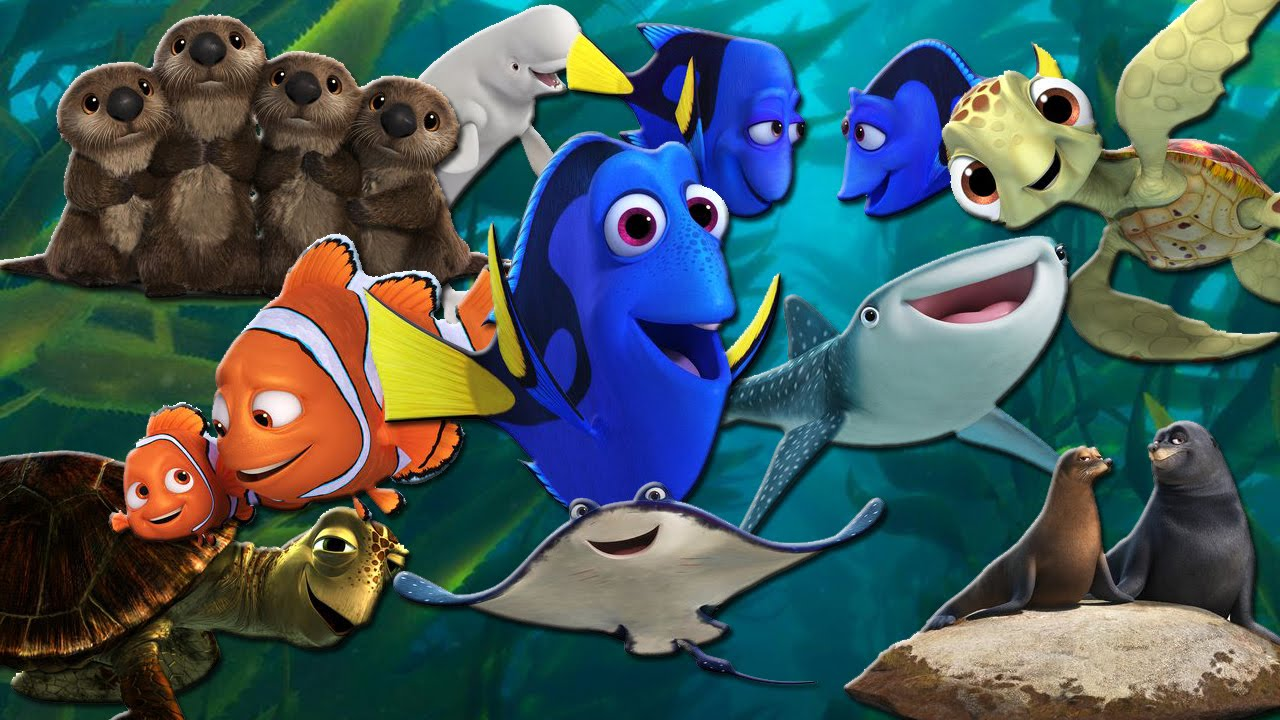 Meet The Characters Of Finding Dory