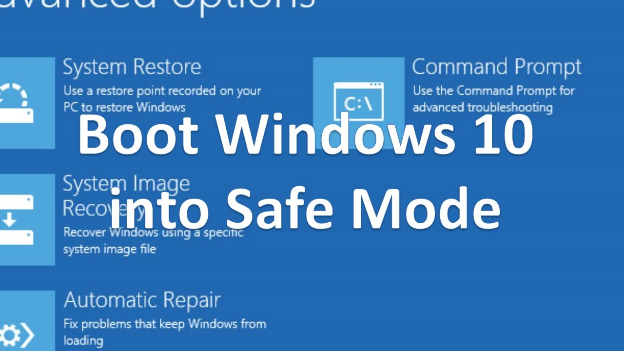 how to put windows 7 in safe mode