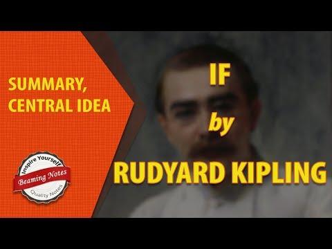 Summary Of If By Rudyard Kipling