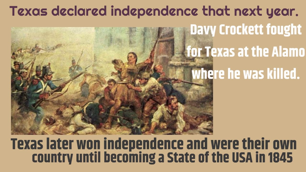 davy crockett biography Davy crockett, august 17, 1786, davy crockett is one of the well-known american folk heroes who gained his reputation as a colonel in lawrence county, tennessee and represented the tennessee state legislature and the texas revolution, as a congressman, he opposed the indian removal act which resulted in his defeat in 1831 elections.