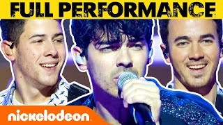 Jonas Brothers Perform 'Sucker' on the All That Stage | #MusicMonday Video
