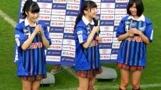 2013.3.31 矢倉楓子・谷川愛梨・與儀ケイラ http://youtu.be/K-Zup3g8rt...