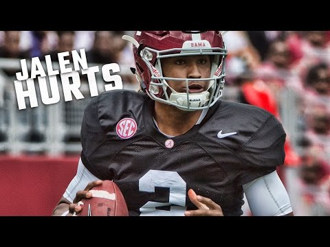 Watch highlights of Jalen Hurts from Alabama