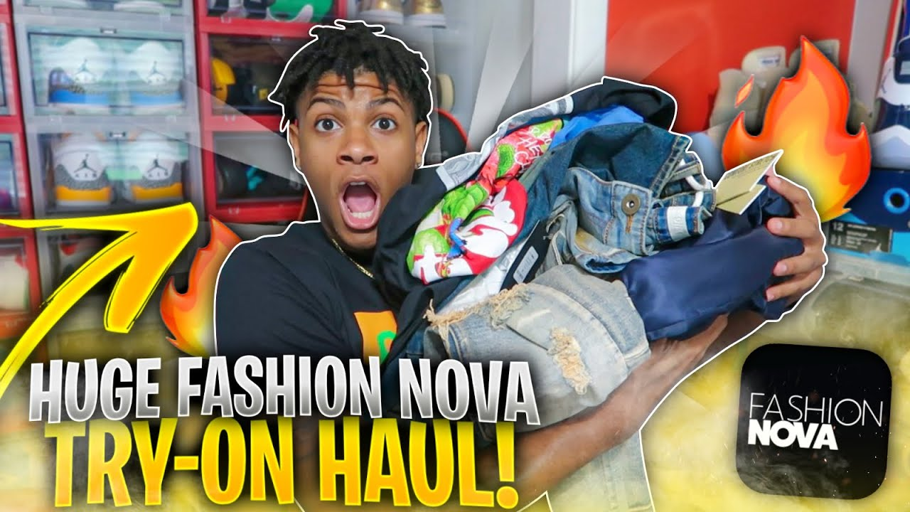 HUGE FASHION NOVA MEN TRY-ON HAUL + HOW TO PUT OUTFITS TOGETHER (2021)✅