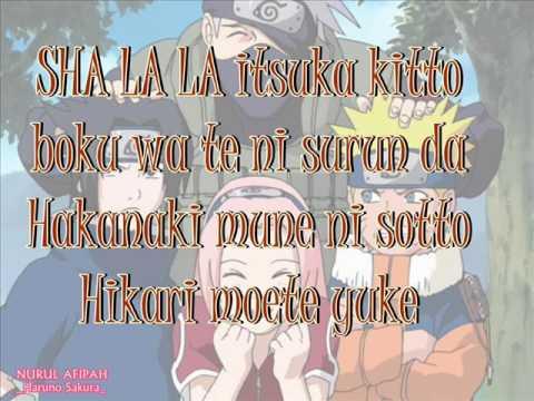 Lyrics ikimono gakari  hotaru no hikari Naruto Shippuden