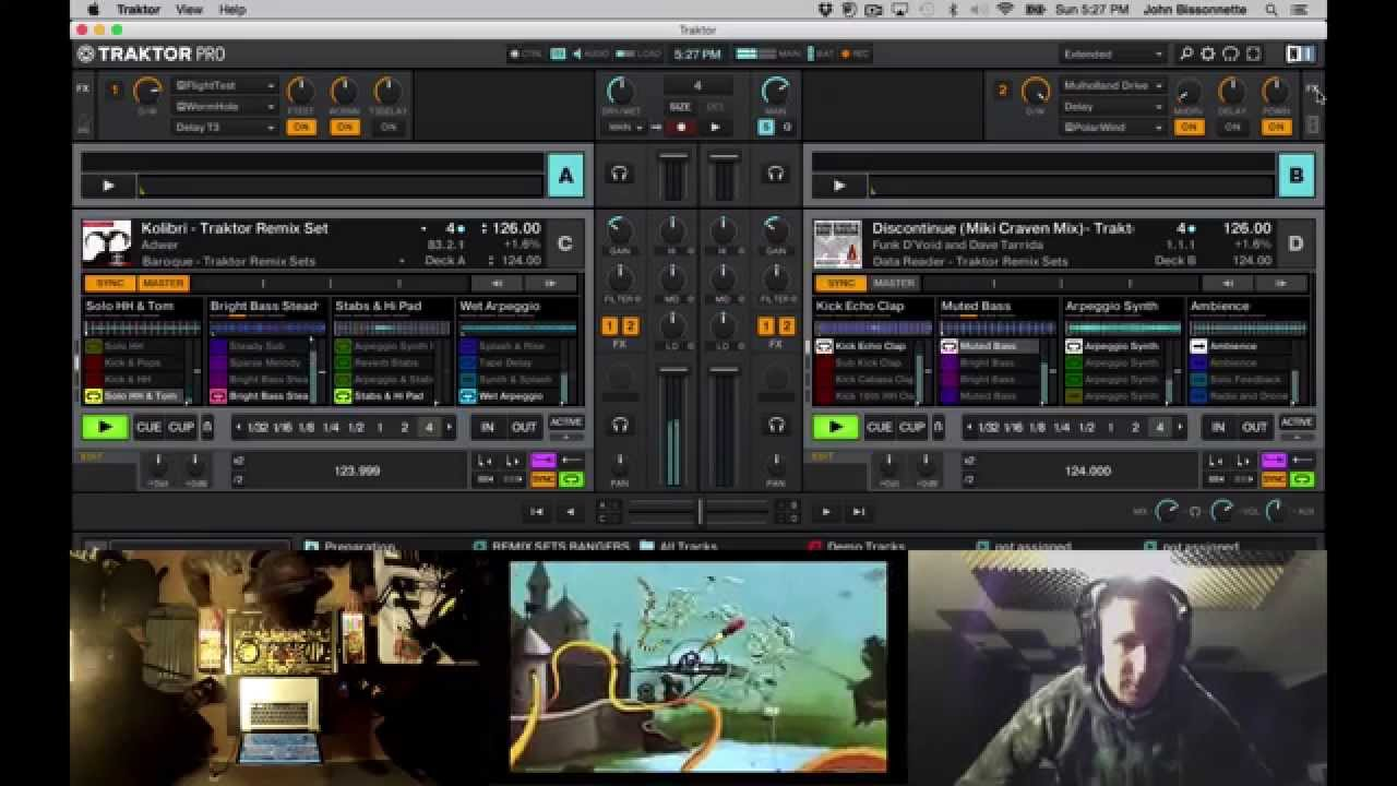 House music traktor remix set youtube for House music set