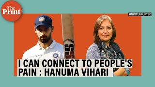 Hanuma Vihari on what it takes to bat out a day with injury to save a Test & being a Covid warrior
