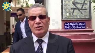 بالفيديو: المستشار جمال عبد الرحمن ل أ ش أ خلال جولته التفقدية داخل اللجان الانتخابية