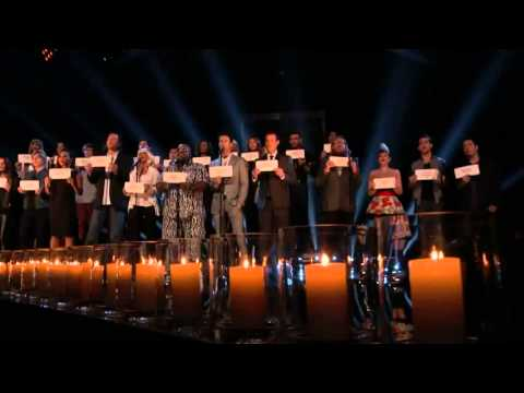 Hallelujah- The Voice Tribute To 26 Killed In Elementary School Classrooms