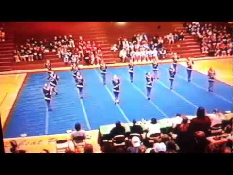Farwell Middle School Competitive Cheer Round 3
