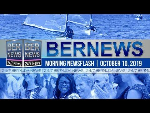 Bermuda Newsflash For Thursday, October 10, 2019