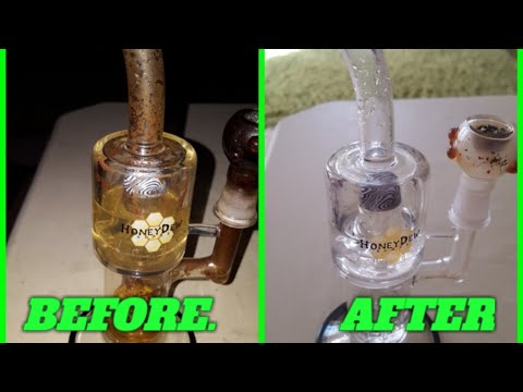 THE BEST WAY TO CLEAN YOUR | BONGS | BOWLS | DAB RIGS | GLASS ONLY |