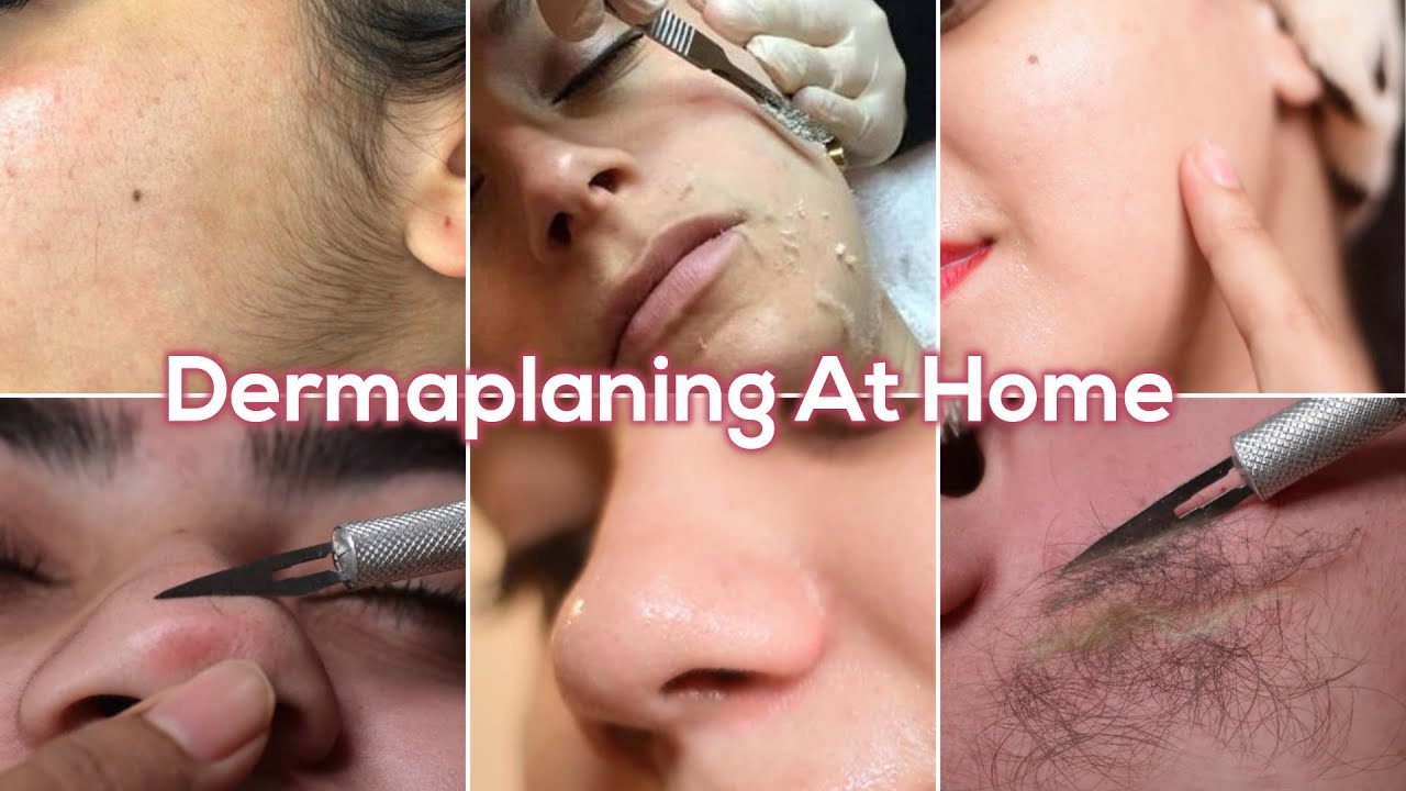 Dermaplaning At Home Remove Facial Hair& Top Layer of Dead Skin|Get Instant Smooth Light Bright Skin