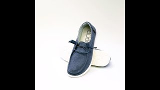 Hey Dude Shoes - 360° Wendy Chambray (Navy)