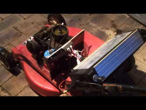 Lithium Phosphate Lawn Mower