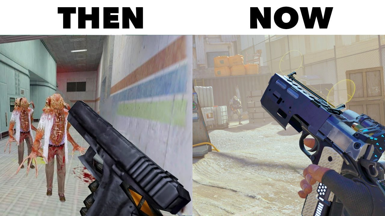 10 Best Video Game Graphics THEN vs NOW [Part 5]