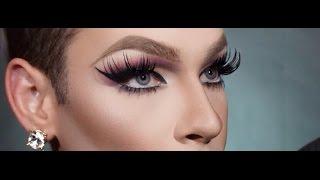 Full Drag Makeup Transformation   FakeFace