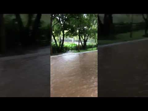 Bangalore Electronic City Campus !! Flood Water !!
