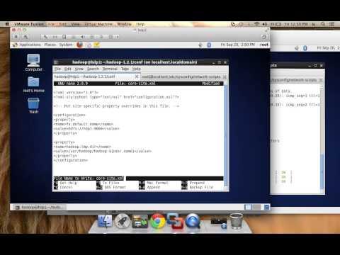 Hadoop Installation Multi-Node cluster (Vmware Fusion)(Centos)