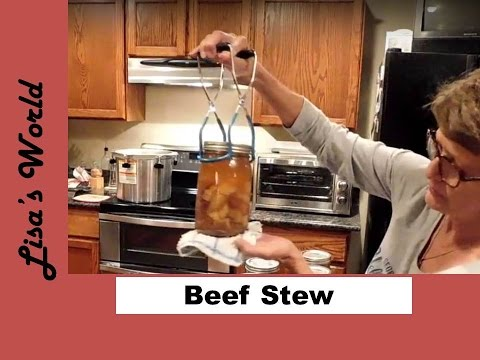 Home Canning Beef Stew - Vegetable Soup With Lisa's World