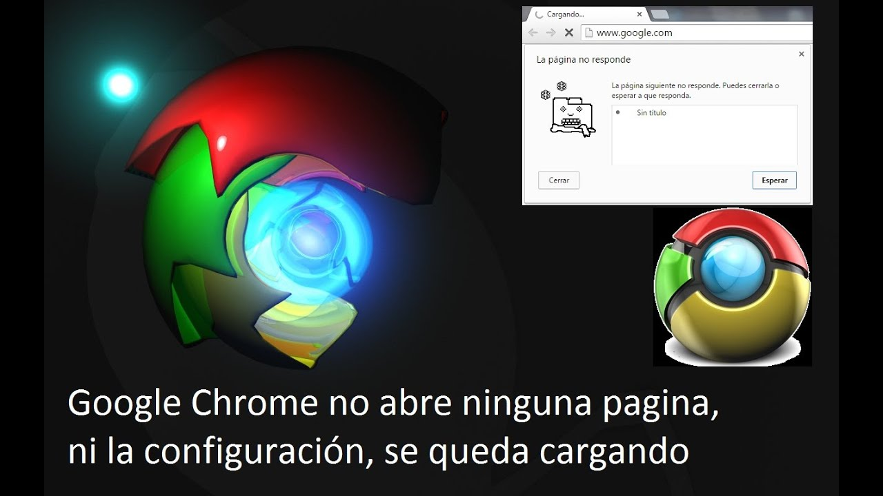 Google Chrome No Carga Ninguna Pagina: Google Chrome No Carga Ninguna Pagina Not Working
