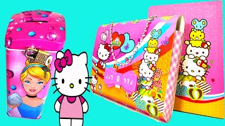 Hello Kitty Password Diary and Disney Princess Coin Bank