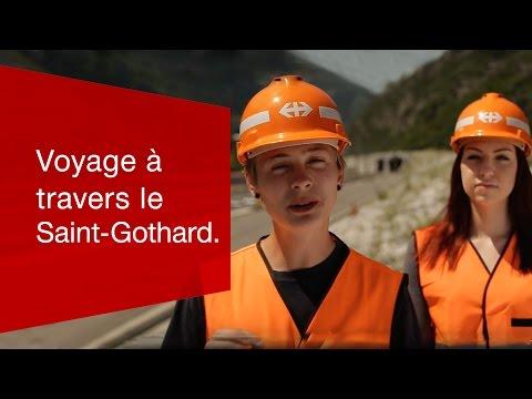 Voyage à travers le Saint-Gothard.
