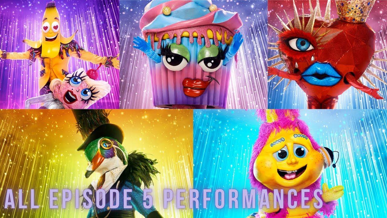 Download All Episode 5 Performances   The Masked Singer Season 6