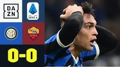 Tabellenführer verzweifelt an der Roma: Inter Mailand - AS Rom 0:0 |Serie A | DAZN Highlights