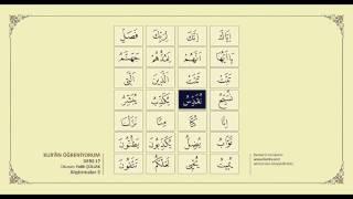 Kuran Öğreniyorum 17 - Alıştırmalar 3 (Fatih Çollak)